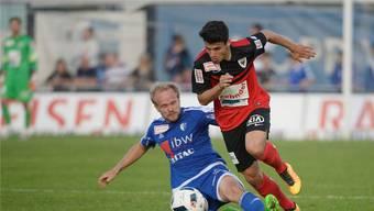 Alles auf Anfang: Mit Rückkehrer Ronny Minkwitz (l.) will der FC Wohlen in der 1. Liga wieder Kraft tanken.