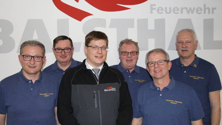 Präsident Stephan Berger, Udo Probst, Christian Born, Hanspeter Dietschi, Hanspeter Linder, Marcel Christ