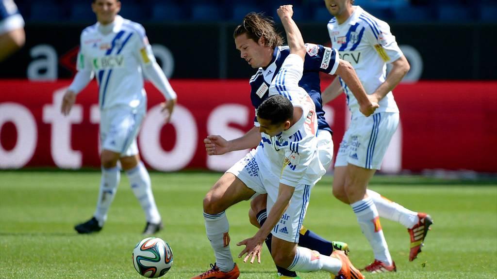 FC Luzern verliert gegen Lausanne mit 3:4