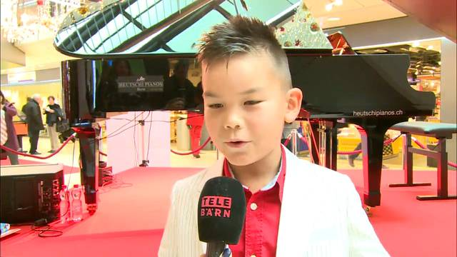 Klavier-Wunderkind komponiert selbst