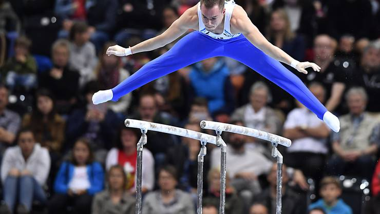 Oleg Wernjajew war der überragende Turner am Swiss Cup