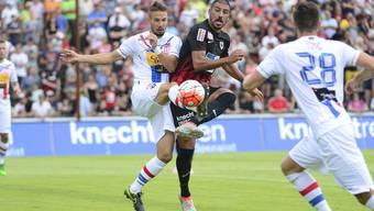 Der FC Aarau fand gegen Chiasso keine Mittel.