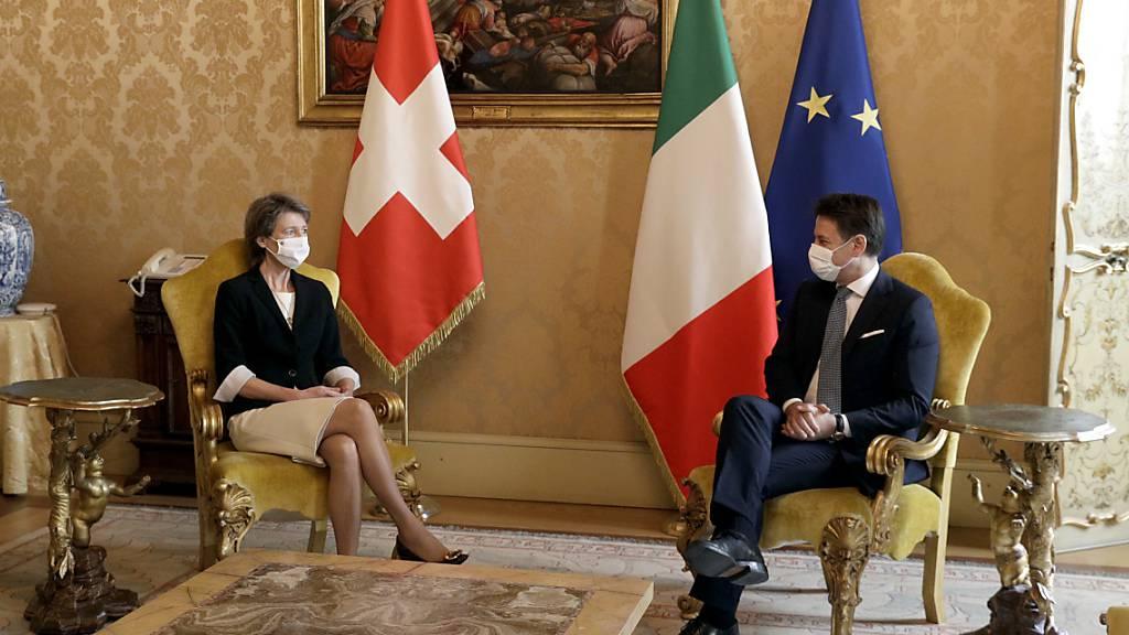 Italienischer Premier will Grenzgängerabkommen rasch unterzeichnen