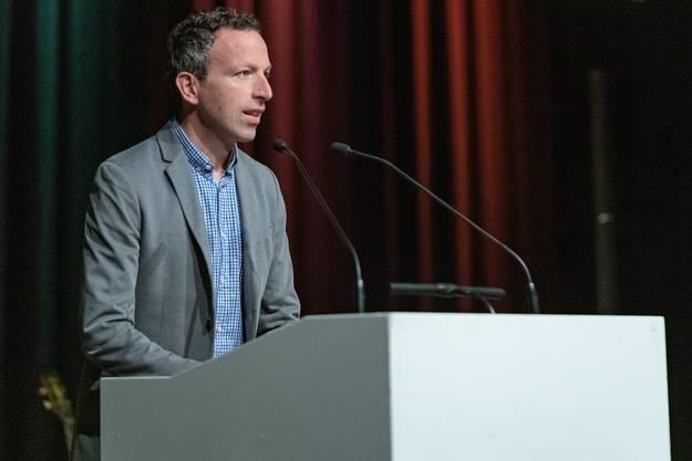Chefredaktor Patrik Müller betonte die Wichtigkeit der Zeitungsverträger.