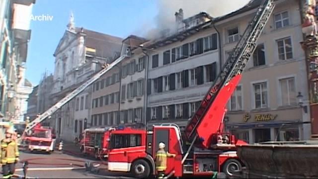 Besondere Herausforderung für die Feuerwehr
