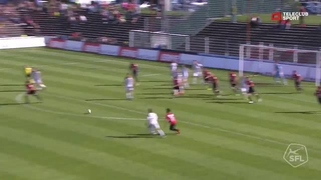 Challenge League, 2017/18, 36. Runde, FC Aarau – FC Vaduz, 3:1 Nikola Gjorgjev