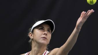 Belinda Bencic steht am WTA-Turnier in Dubai in der 2. Runde