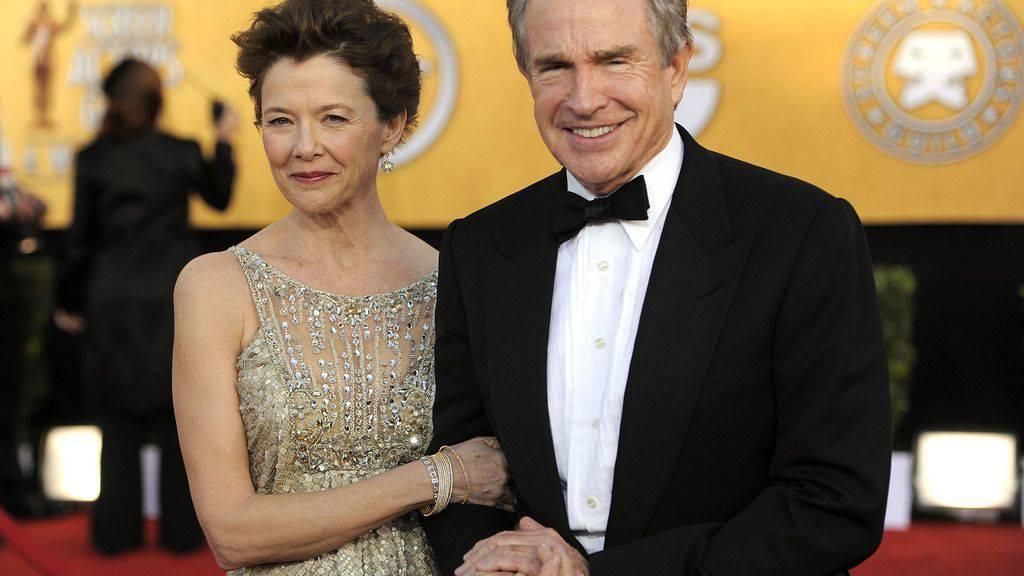 Warren Beatty wusste von Anfang an, dass das mit Annette Bening etwas Dauerhaftes wird. Mittlerweile sind sie 24 Jahre verheiratet. (Archivbild)