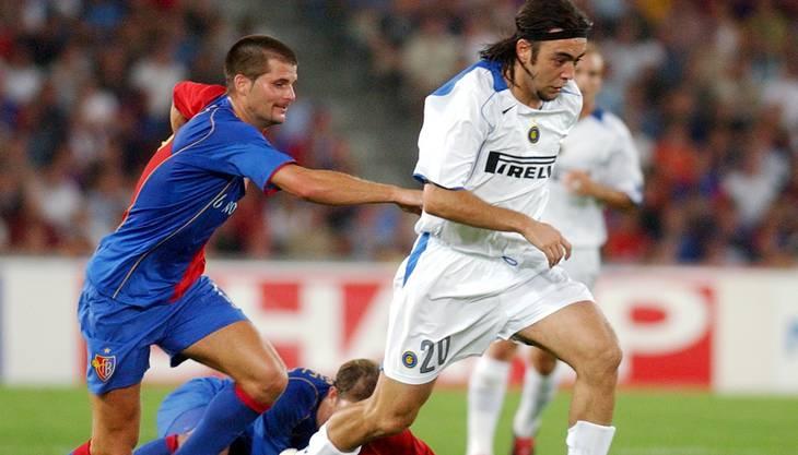 Mario Cantaluppi Im Hinspiel gegen Inter Mailand.