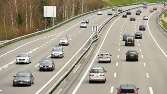 Autobahn A1 bei Wangen a.A.
