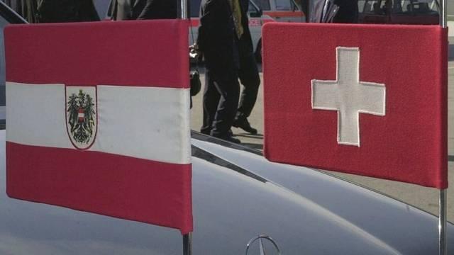 Oesterreich und die Schweiz vertreten sich gegenseitig (Symbolbild)