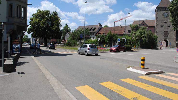 Die Verkehrssituation an der Baslerstrasse wird sich mit der Sanierung ändern.