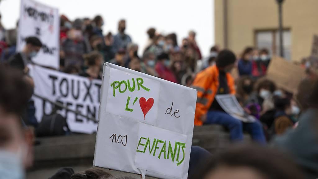 Teil der Klimastreikenden startet Kampagne gegen das CO2-Gesetz