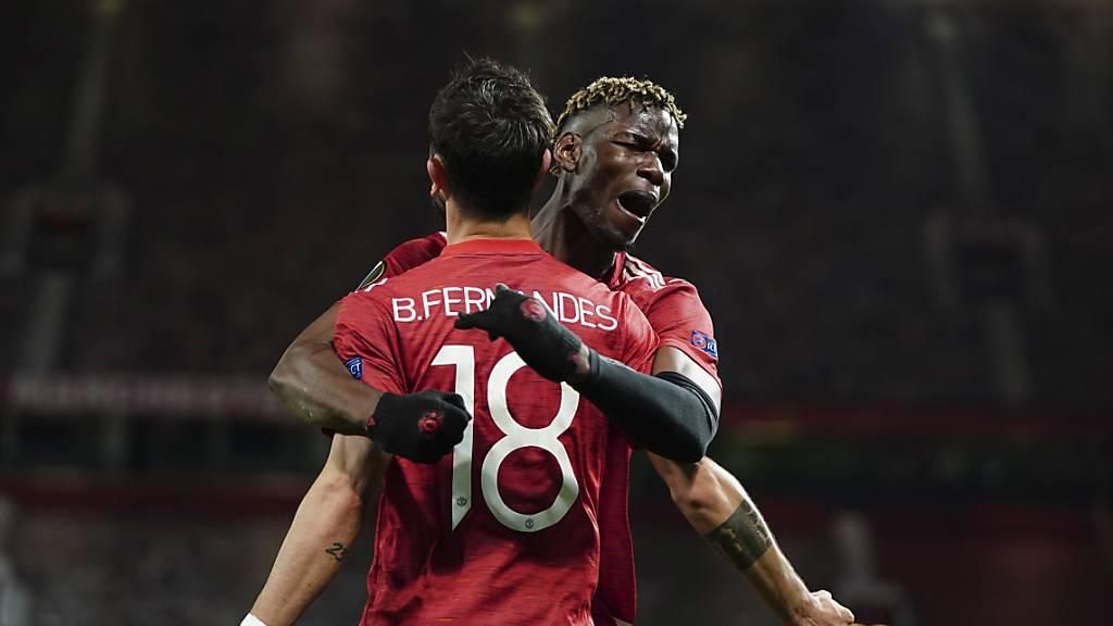 Paul Pogba und Bruno Fernandes sind zwei der Stars im Trikot von Manchester United