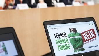 Die Gegner der Vorlage für eine grüne Wirtschaft haben deutlich aufgeholt.