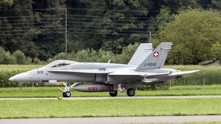 Seit 1997 im Einsatz: Die F/A-18 Hornet.