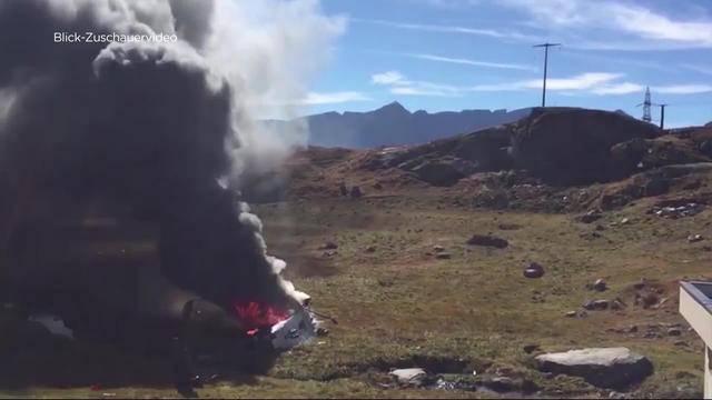 Militärhelikopter abgestürzt