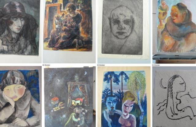 Bilder aus Gurlitts Sammlung (Archiv)
