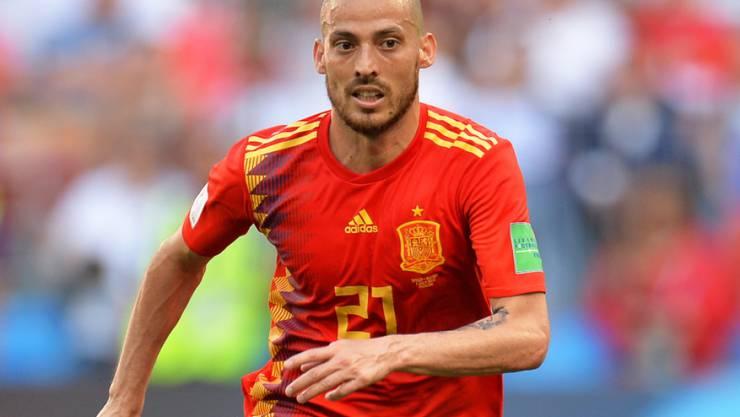 Erklärt mit 32 Jahren seinen Rücktritt aus der spanischen Nationalmannschaft: David Silva
