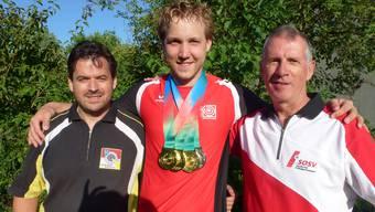 Von links Marc-André Haefeli, Jan Lochbihler und Rolf Kaiser.