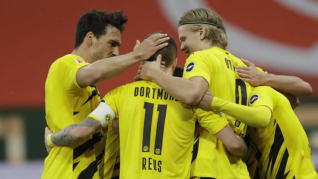 Die Dortmunder haben wieder Grund zum Feiern