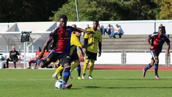 Der Stürmer Nefatli Manzambi schoss gegen Kriens das Tor zum zwischenzeitlichen 2:0.