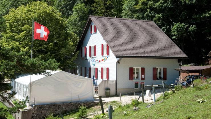 Das Naturfreundehaus wurde vor 80 Jahren von Gewerkschaftern aus Biberist und umliegenden Gemeinden gebaut.