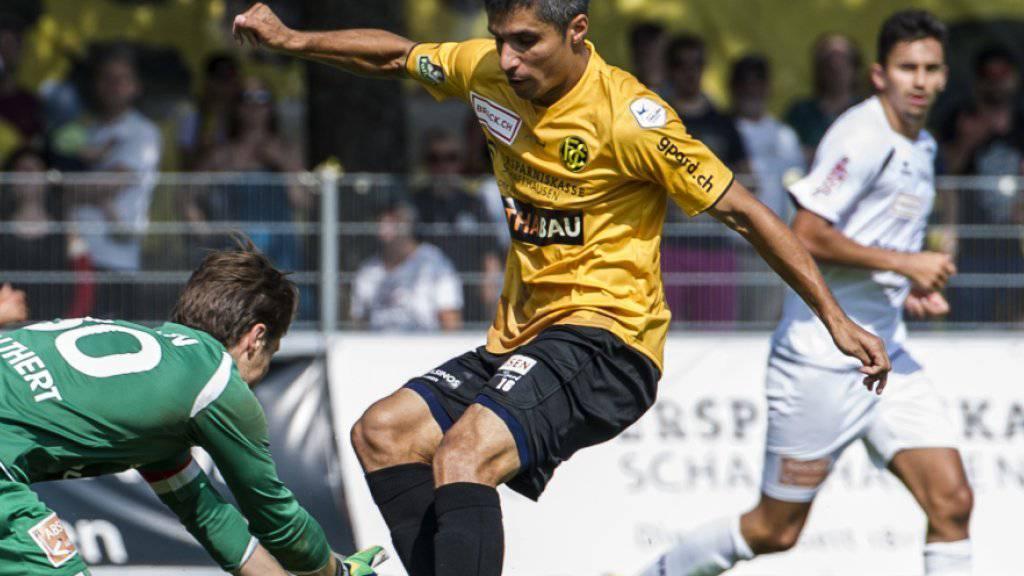 Cristian Ianu muss Schaffhausen verlassen