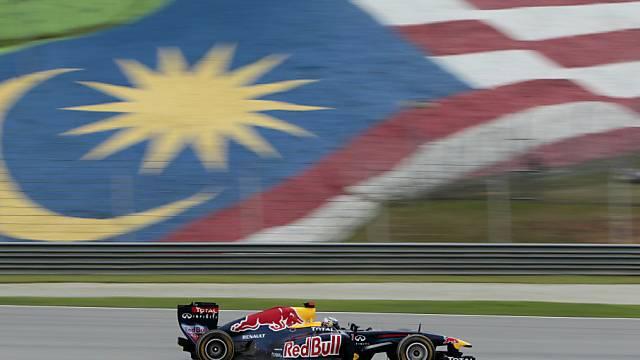 Sebastian Vettel gewinnt auch das zweite Saisonrennen