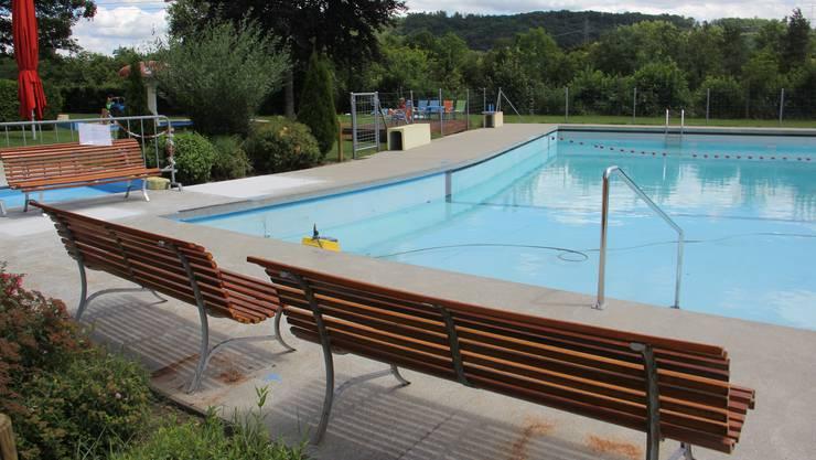 Wegen mehrerer Lecks war das Hauptschwimmbecken der Badi Villnachern die ganze Saison 2020 geschlossen.