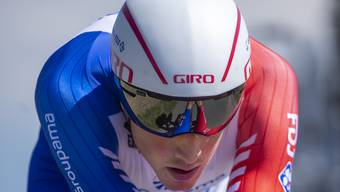 Stefan Küng wurde seiner Favoritenrolle im Zeitfahren an der Benelux-Rundfahrt nicht gerecht