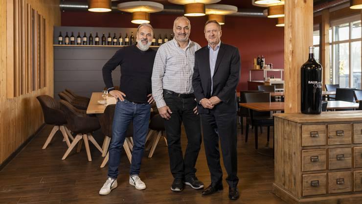 Die Brüder Peter und Thomas Rosenberger unterstützen den Golfclub beim Management des Restaurants.