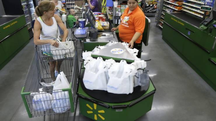 Konsumenten in den USA sind derzeit wenig ausgabefreudig. (Symbol)