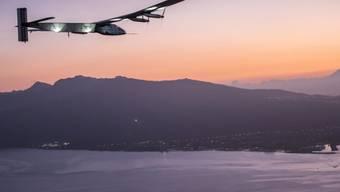Solar Impulse auf der Weltumrundungs-Reise