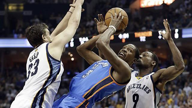 Playoffs für Durant und Oklahoma City noch nicht vorbei