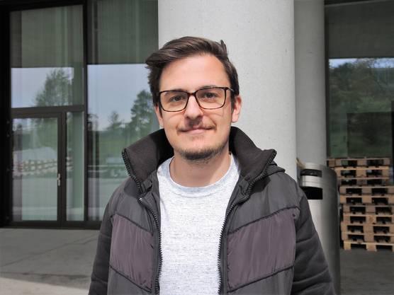 Josip, 22, Zofingen AG, iCompetence: «Ich war schon im Brugger Kino oder machte Pub-Tours mit Kollegen. Ich kenne das Wasserschloss; ansonsten kenne ich mich nicht gut aus in der Stadt. Das Campus Cinema sagt mir nichts.»