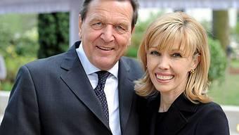 Gerhard Schröder mit Ehefrau Doris