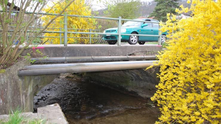 Mit der Projektierung des Neubaus wird noch zugewartet; dafür wird die Traglast der Brücke auf acht Tonnen beschränkt. lbr