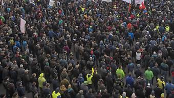 Angst vor Eskalation – Kundgebung ist abgesagt. (Symbolbild)