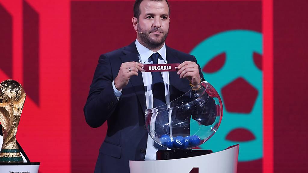 Die Schweizer Nationalmannschaft beginnt ihr Pensum in der WM-Qualifikation in Bulgarien