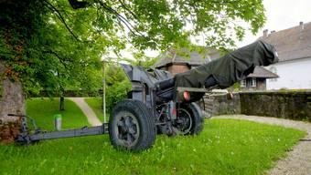 Abrüstung auf der Krummturmschanze Solothurn: Fünf Geschütze müssen weg