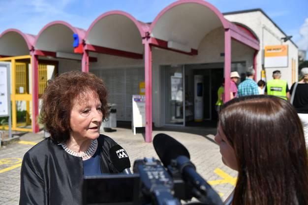 Bea Heim macht sich Sorgen wegen Beschimpfungen gegen Senioren.