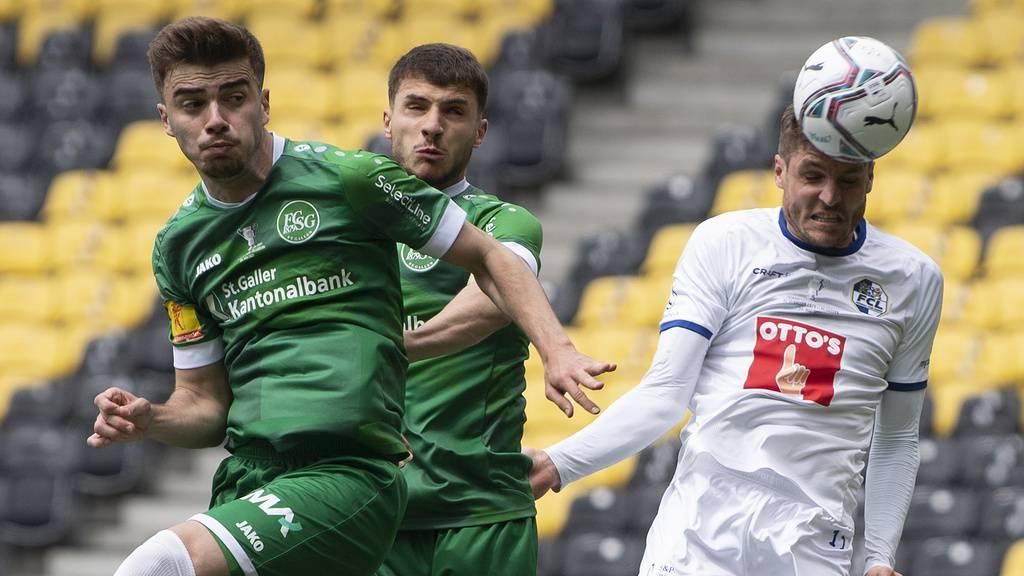 Aus der Traum: Der FC St.Gallen verliert den Cupfinal gegen Luzern mit 1:3