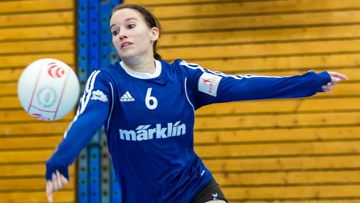 Die Frauen des STV Oberentfelden-Amsteg - im Bild Sabrina Siegenthaler - haben sich ohne Punktverlust den Qualifikationssieg gesichert.