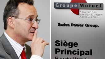 Verdiente als Chef von Groupe Mutuel 2,2 Millionen im Jahr: Pierre-Marcel Revaz. (Archivbild)