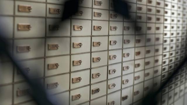 Der Tresorraum einer Schweizer Bank (Symbolbild)