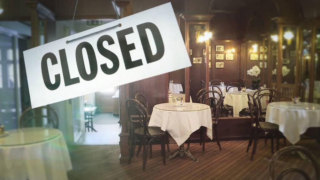 Lockdown-Loch zwingt erste Berner Restaurants zur Schliessung