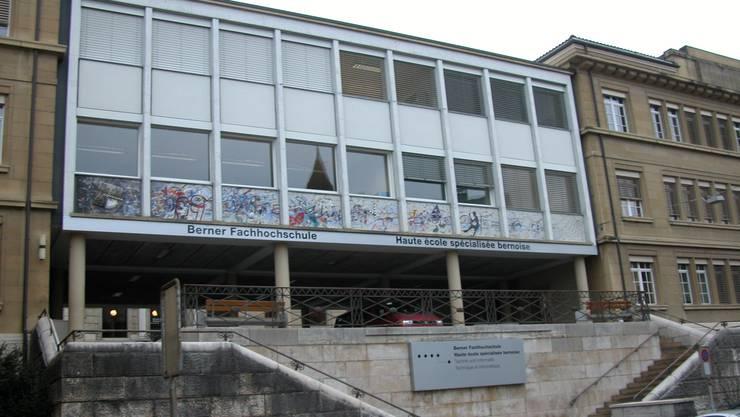 Die Berner Fachhochschule in Biel.