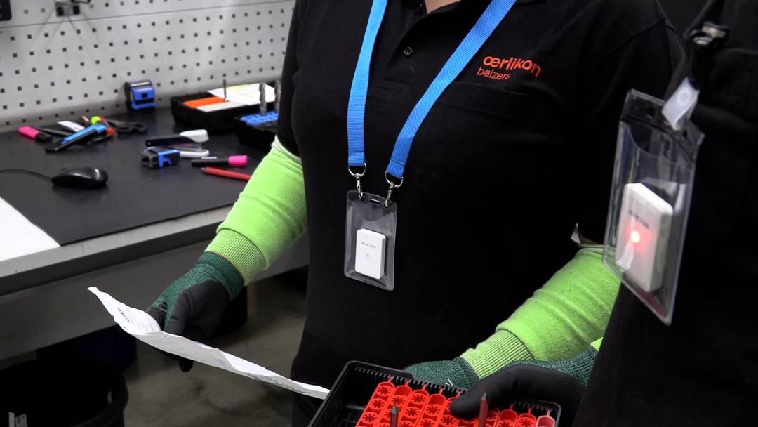 Abstand halten: Metco Oerlikon in Wohlen testet digitales Warnsystem