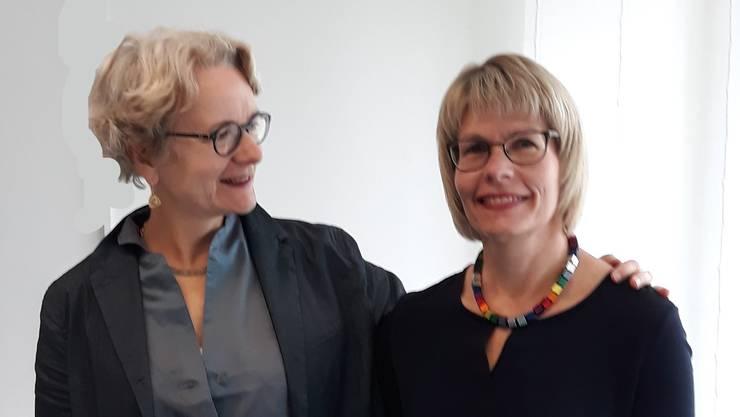 """Gisela Wyssmann (re): """"Durch die TA-Weiterbildung habe ich meine Kommunikation bewusst gestalten gelernt"""""""